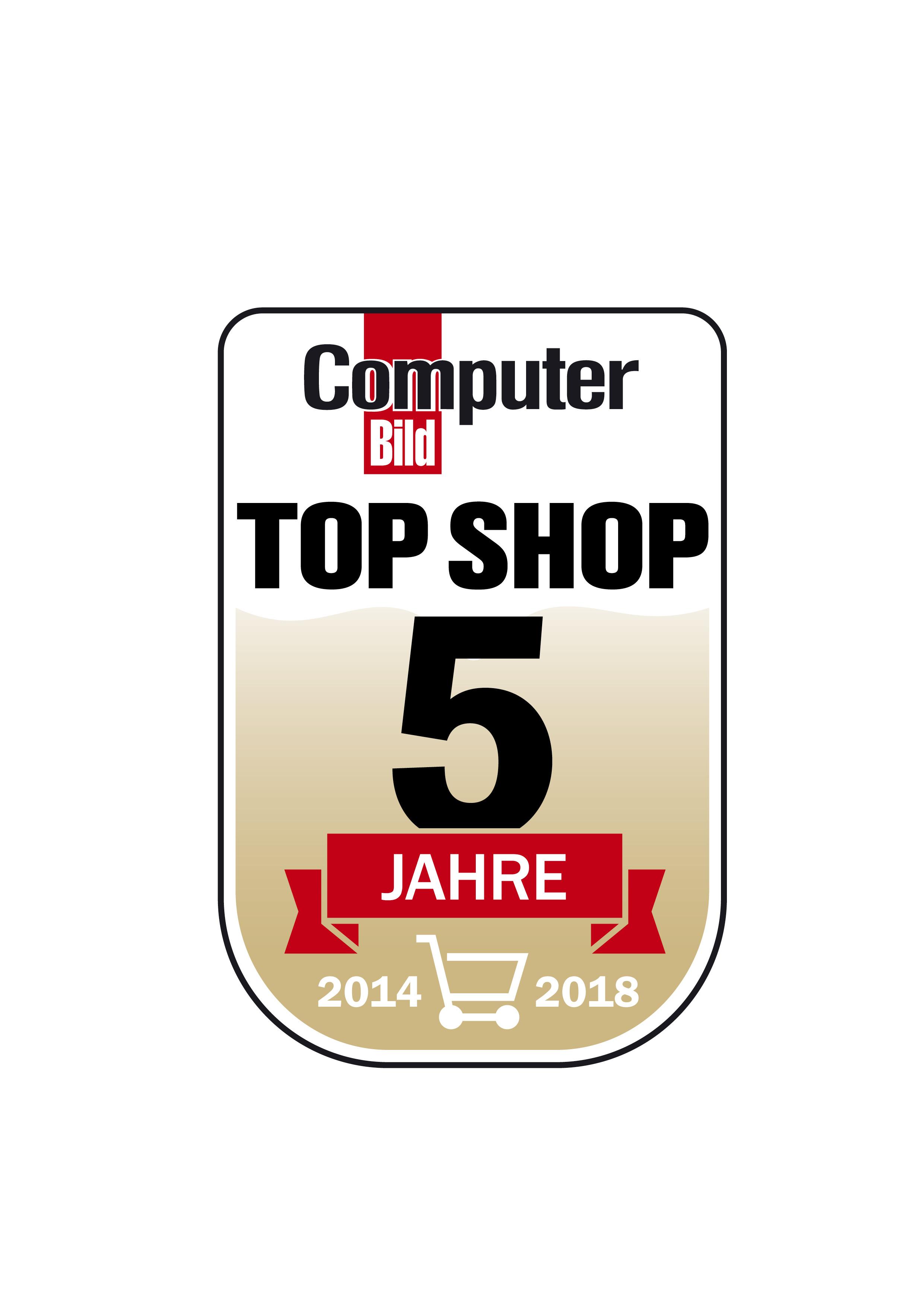 Top Shop Logo Jubiläum